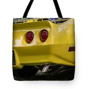 1976 Corvette Stingray Taillights Tote Bag