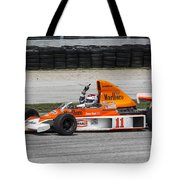 1976 Mclaren M23 F1 At Road America Tote Bag
