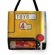 1978 Toyota Land Cruiser Fj40 Taillight Emblem -1191c Tote Bag