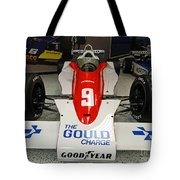 1979 Indy 500 Winning Car Of Rick Mears Tote Bag