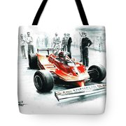1980  Ferrari 312t5 Tote Bag