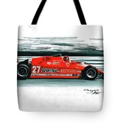 1981  Ferrari 126cx Tote Bag