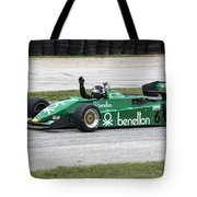 1983 Tyrrell 011 F1 At Road America Tote Bag