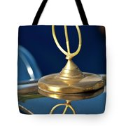 1984 Excalibur Roadster Hood Ornament Tote Bag