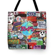 1985 Tote Bag by David Sutter
