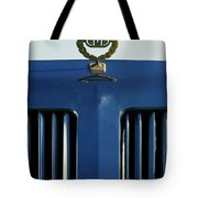 1985 Tiffany Coupe Hood Ornament Tote Bag by Jill Reger