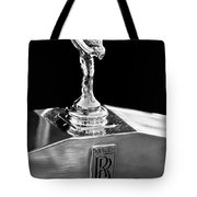 1986 Rolls-royce Hood Ornament 2 Tote Bag