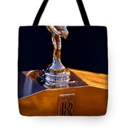 1986 Rolls-royce Hood Ornament Tote Bag