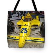 1987 Indianapolis 500 Winner Al Unser Tote Bag