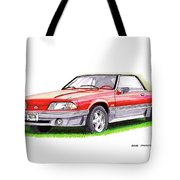 1989 Saleen Mustang Convertible Tote Bag