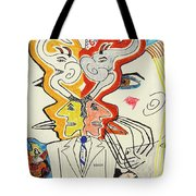 1991 - In Motion Tote Bag