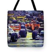 1992 Monaco Gp Start  Tote Bag