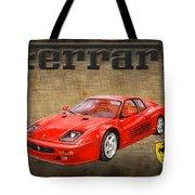 Ferrari F 512m 1995 Tote Bag