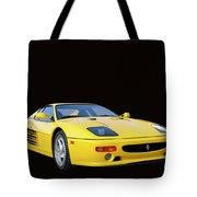 1995 Ferrari F512m Tote Bag