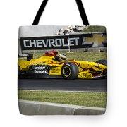 1997 Jordan 197 F1 At Road America Tote Bag
