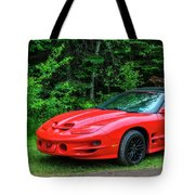1998 Pontiac Firebird Trans Am Tote Bag
