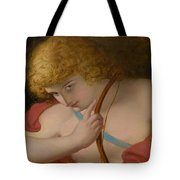 19th Century English School Cupid With Bow. Tote Bag