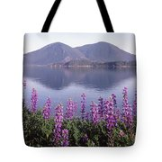 1a6345 Mt. Konocti Reflect Ca Tote Bag by Ed Cooper Photography
