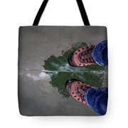Standing On Thin Ice 2 Tote Bag