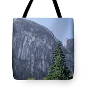 1m2933 Zodiac Wall Stawamus Chief Tote Bag by Ed Cooper Photography