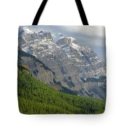 1m3625 Massive Ramparts Of Mt. Wilson Tote Bag