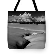 1m9303 Bwtetons Seen From Jackson Hole Tote Bag