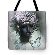 Sensual Beautiful Dahlia Tote Bag