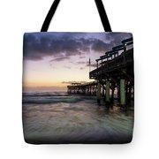 1st Dawn Cocoa Pier Tote Bag
