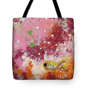 1 Gold Fish Tote Bag