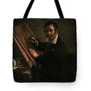 1824 Vasily Tropinin Tote Bag