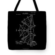 1872 Flying Apparatus Patent Drawing Tote Bag