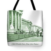 1904 World's Fair, Fine Arts Palace Tote Bag
