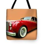 1953 Jaguar M K V II Tote Bag