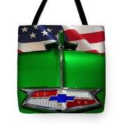 1954 Chevrolet Hood Emblem Tote Bag