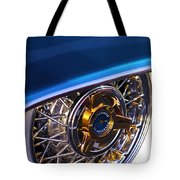 1957 Ford Thunderbird Wheel Tote Bag