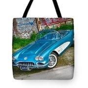 1959 Chevrolet Corvette Tote Bag