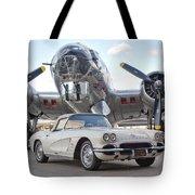 1962 Chevrolet Corvette Tote Bag