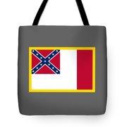 3d Confederate Flag Tote Bag