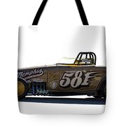 581 Bonneville Race Car Tote Bag