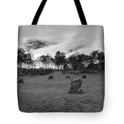 9 Ladies Stone Circle, Stanton Moor, Peak District National Park Tote Bag