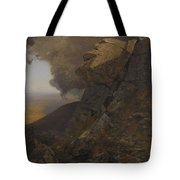 A Cliff In The Katskills Tote Bag