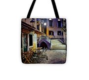 An Evening In Venice Tote Bag