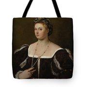 A Portrait Of A Lady Tote Bag