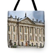 A View Of Chatsworth House, Great Britain Tote Bag