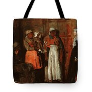 A Visit From The Old Mistress Tote Bag