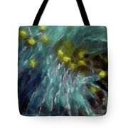Abstract 92 Digital Oil Painting On Canvas Full Of Texture And Brig Tote Bag