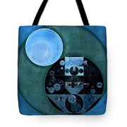 Abstract Painting - Lapis Lazuli Tote Bag