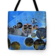Abstract Painting - Tufts Blue Tote Bag
