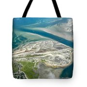 Aerial Vew Of Sandy Neck Beach In Barnstable On Cape Cod Massac Tote Bag