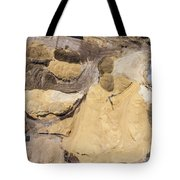 Aerial View Over The Sandpit. Industrial Place In Poland. Tote Bag